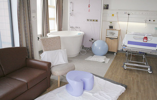 The Birth Centre Aspen Ward Darent Valley Hospital